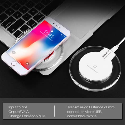 qi wireless charger for samsung galaxy s9 s8 plus suntaiho fashion charging dock cradle charger