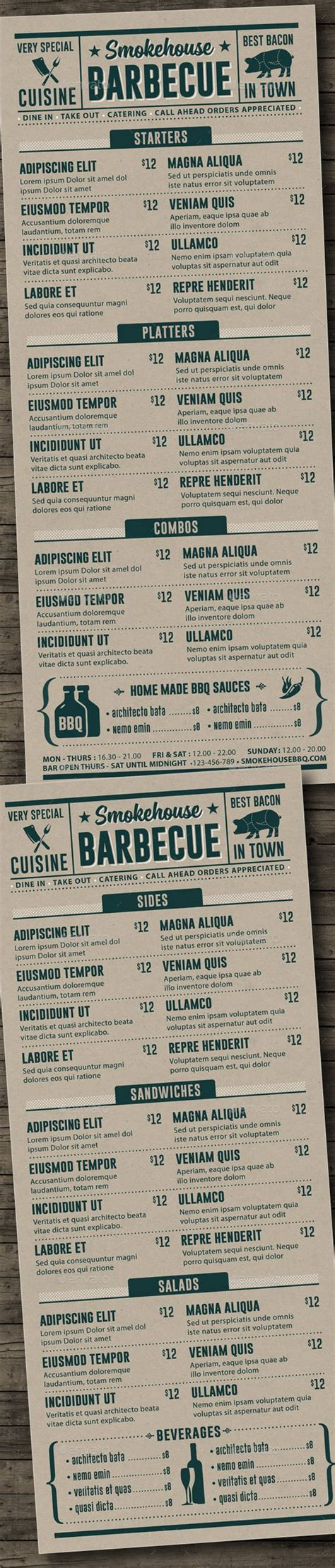 bbq menu template bbq menu template menu template food menu and bbq menu