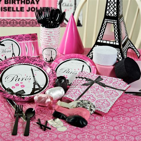 paris themed party kit paris themed party supplies decorations home ideas 2016