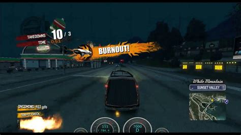 burnout paradise vanity pack with vans road rage