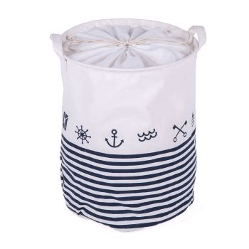 Nautical Linen Laundry Her In White And Blue Patpat Nautical Laundry