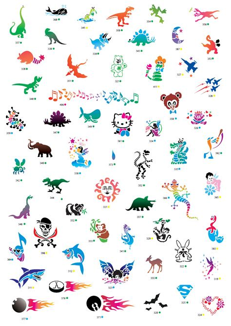 temporary tattoos for kids kiddo world birthday entertainment temporary