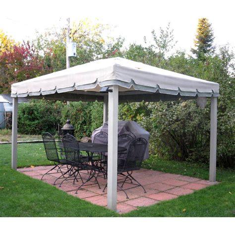 Garden Winds Gazebos by Costco 10 X 12 Single Tiered Gazebo Replacement Canopy