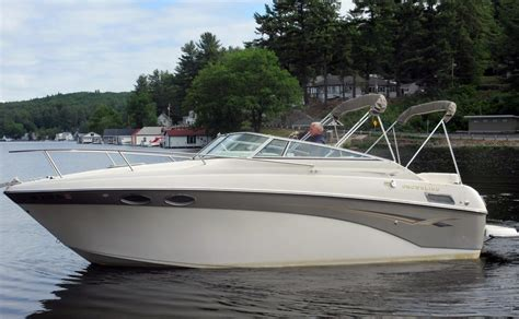 2003 used crownline 242 cr 11609 cuddy cabin boat for sale