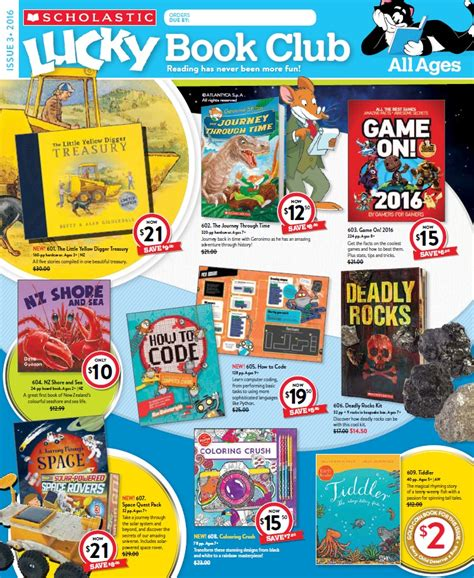 lucky books lucky book club scholastic new zealand