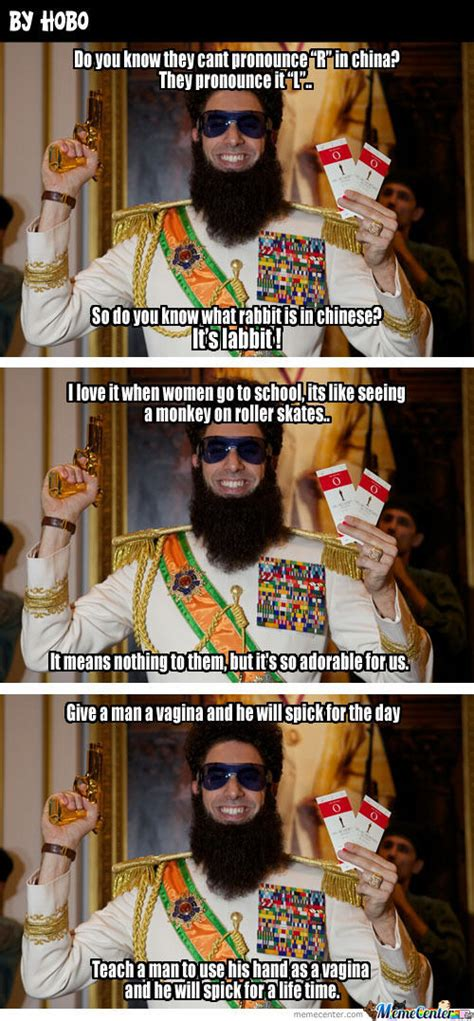 The Dictator Memes - the lovely dictator by hobo meme center