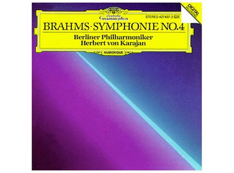 Berliner Philharmoniker Recordings by Brahms Symphony No 4 The Berlin Philharmonic S Best