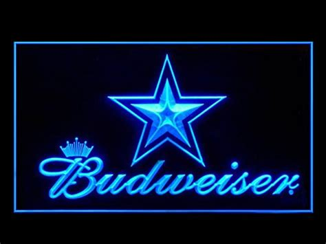 dallas cowboys bud light cowboys neon signs dallas cowboys neon sign cowboys neon