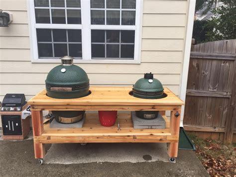 buy big green egg table table for big green egg kamado style smoker grill 70