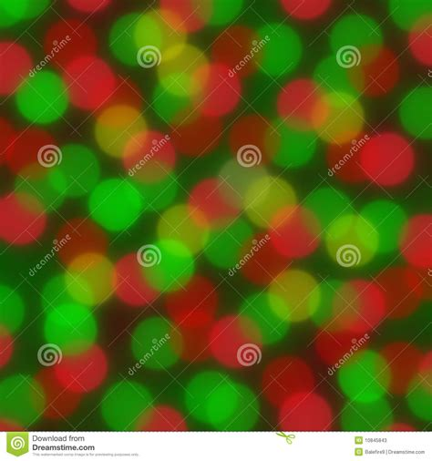 red and green christmas lights red and green lights making a blurred background stock