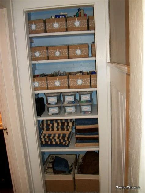 linen closet organization ideas pin by shannan le douma on a place for everything organizer storage t