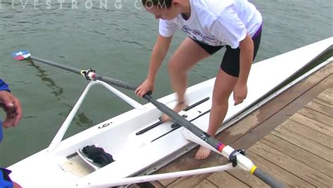 how to get a boat how to get in a rowing boat youtube