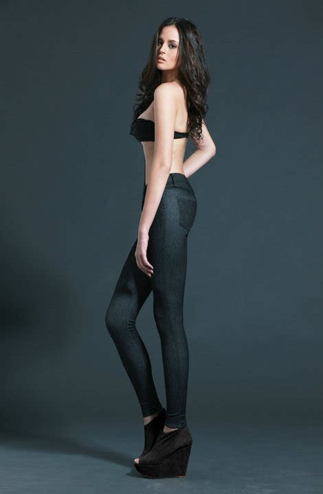 georgina wilson bench photos knit jeans by herbench who wore it best