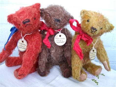 Handmade Mohair Bears - handmade teddy bears and raggedies customizable handmade
