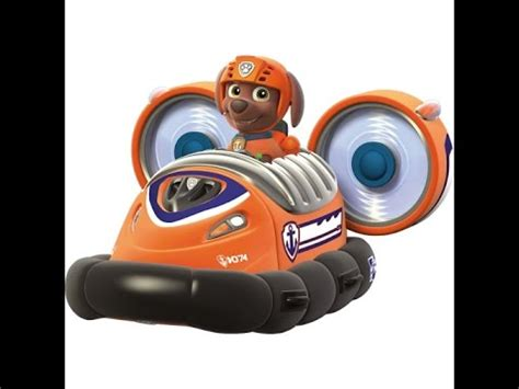 paw patrol boat youtube paw patrol zuma s hovercraft vehicle and figure toy for