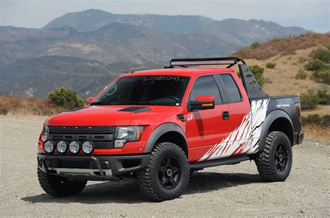 ford truck raptor roush builds supercharged raptor for charity ford trucks com