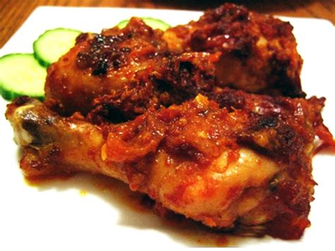 Masakan Ayam Bebek Favorit S324 resep ayam bumbu rujak rasa pedas gurih resep cara masak