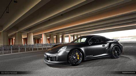 porsche black 911 matte black porsche 911 turbo s by mm performance gtspirit