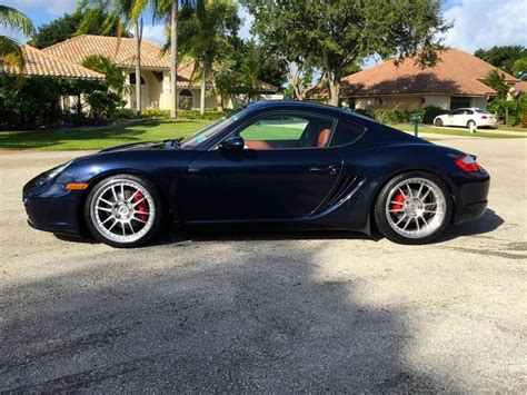 porsche midnight blue for sale 2007 porsche cayman s midnight blue terrac