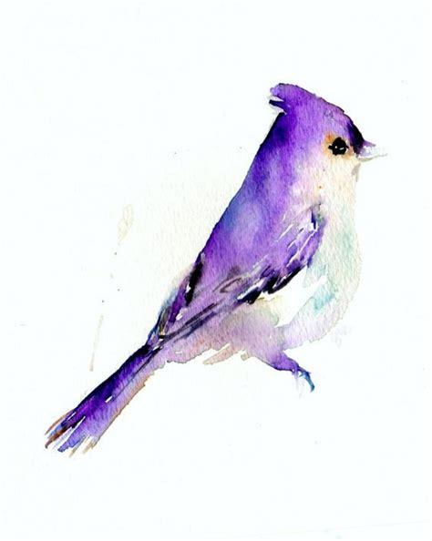 violet watercolor bird tattoo design tattooimages biz