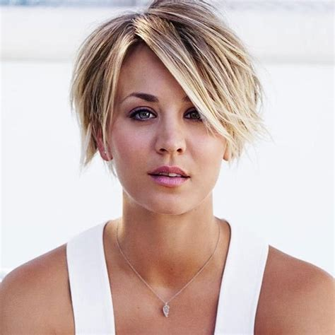 kaley cuoco new short hairdo kaley cuoco pinteres