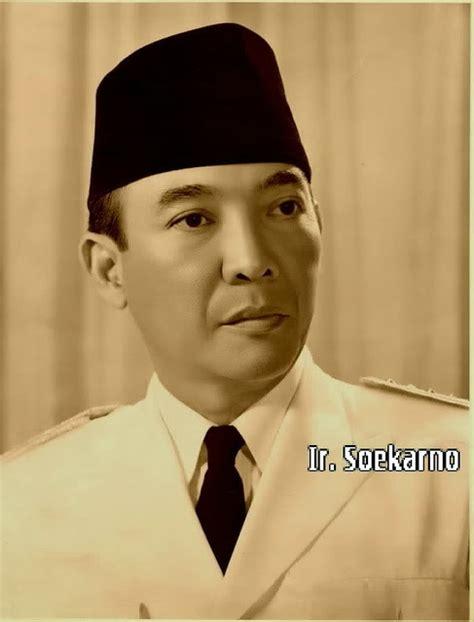 Pahlawan Ir Soekarno biografi presiden ir soekarno terlengkap