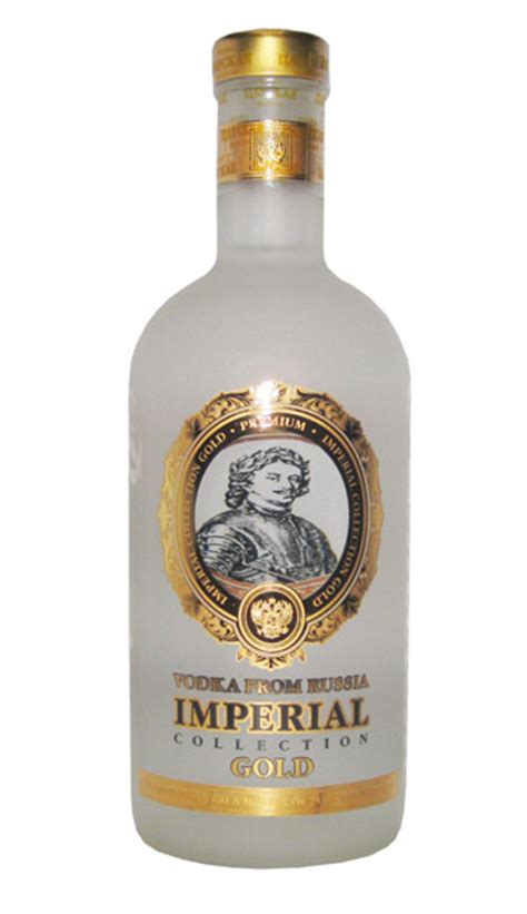 Rublevka by Imperial Collection Gold 0 7l Vodka Disla De