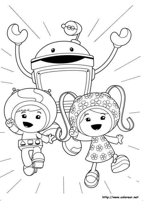 free team umizoomi coloring pages printable dibujos para colorear de umizoomi