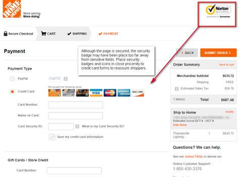 Where Can I Use Home Design Credit Card How To Design An Ecommerce Checkout Flow That Converts