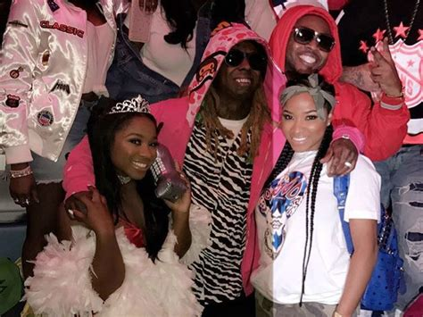 color me nae lil wayne toya wright celebrate reginae