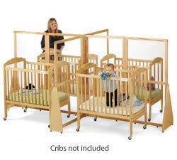 Crib Separator by Jonti Craft See Thru Crib Divider 1653jc Crib