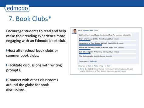 edmodo class code 20 ways to use edmodo great resource for project ideas