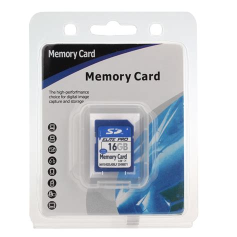 Memory Card Gps elite pro sd card memory card 16gb for mp4 pc gps etc alex nld