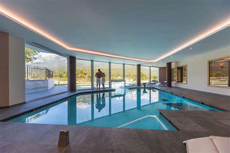 piscina interna hotel regent s ad andalo con centro benessere dolomiti di