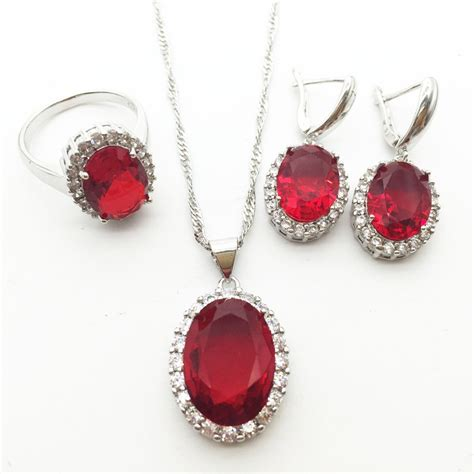 Ruby Jewelry by Get Cheap Ruby Settings Aliexpress Alibaba