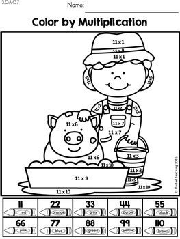 Multiplication Worksheets - 11 and 12 Times Tables by