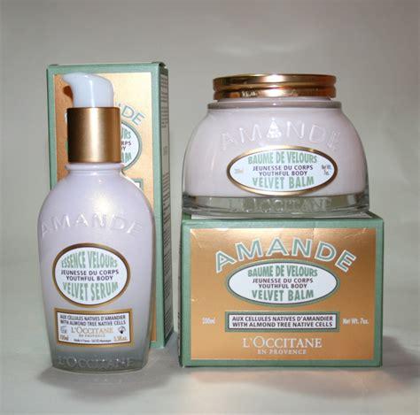 Almond Velvet 1 l occitane almond velvet serum and almond velvet balm