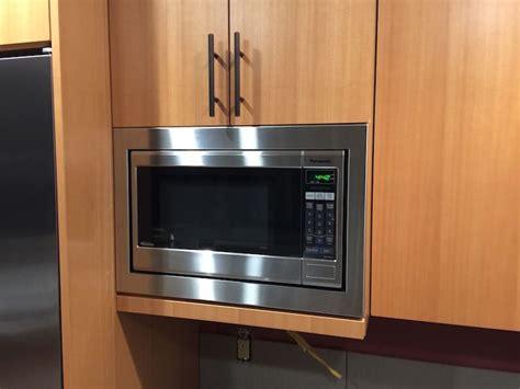 microwave trim kit for 24 cabinet panasonic 24 quot microwave trim kit trimkits usa microwave