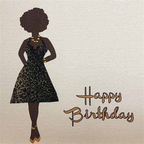 birthday card   queen   black dress colourshot