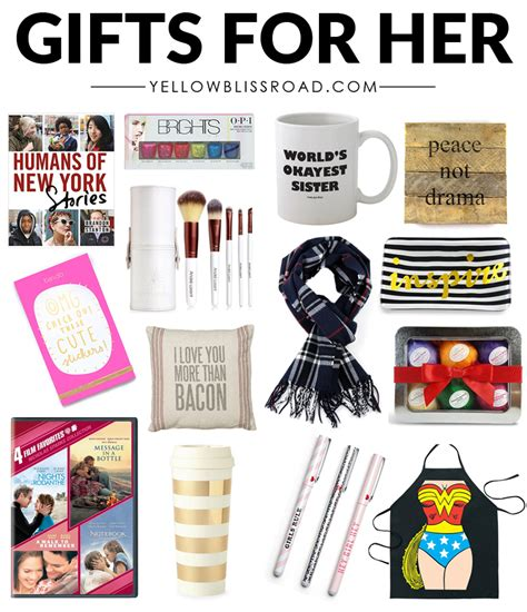christmas ideas for her christmas gift ideas for her to fit every budget yellow