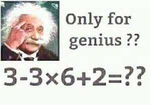 maths challenge 6 answers answer only for genius 3 3 x 6 2 david