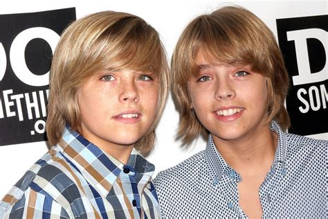 dylan and cole sprouse 2005 new year the suite life s sprouse twins graduated from college and
