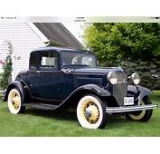 REDUCED 1932 Ford 5 Window V8 Coupe Restored Factory Stock