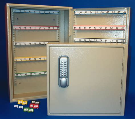 key cabinet with combination lock in everyday needs