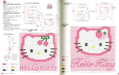 imagenes de kitty en punto de cruz imagen hello kitty en punto de cruz grupos emagister com