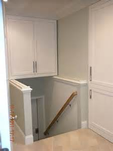 stairway storage this stair storage cabinet in groton ma is built on