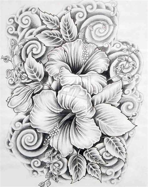 design flower pencil hearts and rose black and white drawings google search
