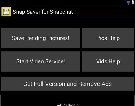 snap saver for android snap saver for snapchat apk last update