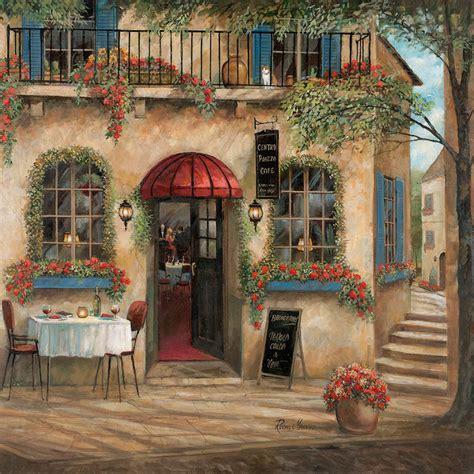centro piazza cafe canvas art  ruane manning icanvas