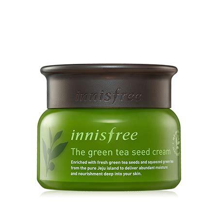 Pelembab Innisfree produk perawatan kulit the green tea seed innisfree